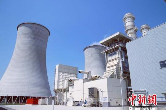 中国国内首个智慧电厂大唐泰州热电已投产近一年。 孙忠一 摄